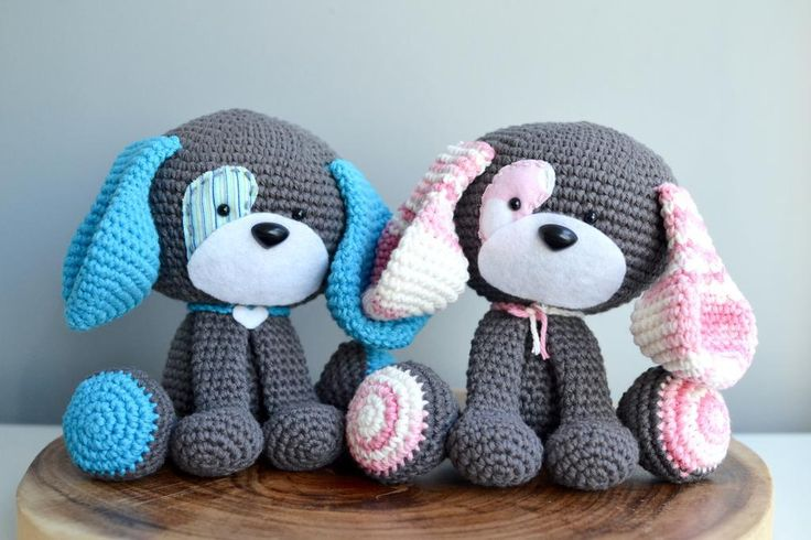 Amigurumi Dog Knitting Patterns : 17 Best images about Haakpatronen on Pinterest Crochet ...