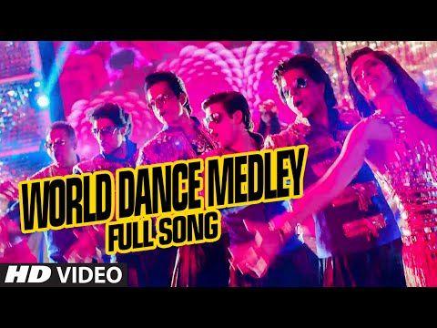 "OFFICIAL: ""World Dance Medley"" Full VIDEO Song   Happy New Year   Shah Rukh Khan   Vishal, Shekhar - YouTube"