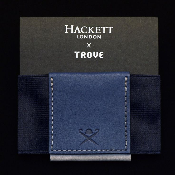 This is our second Special Edition TROVE wallet in collaboration with global luxury brand HACKETT London.Created in joint venture with Jeremy Hackett, this exc