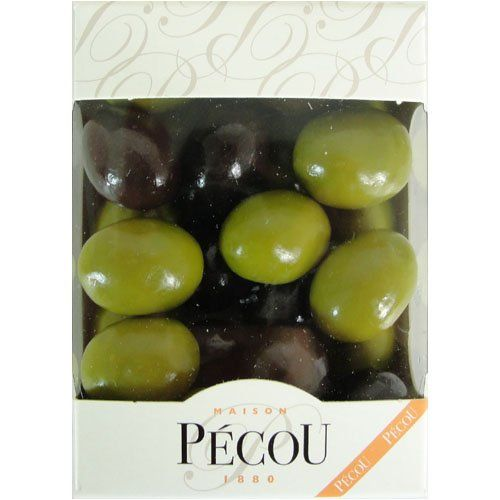 Dragées Pecou Chocolate Nougatine Olives In Box 140 gr Dragées Pecou http://www.amazon.com/dp/B002TMA8OU/ref=cm_sw_r_pi_dp_NdIKvb16WF2KE