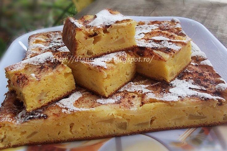 Retete mancare Gateste Inteligent Prajitura cu iaurt si mere