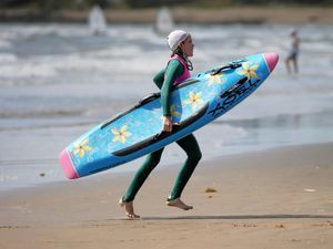 Image result for what wetsuit for surf lifesaving