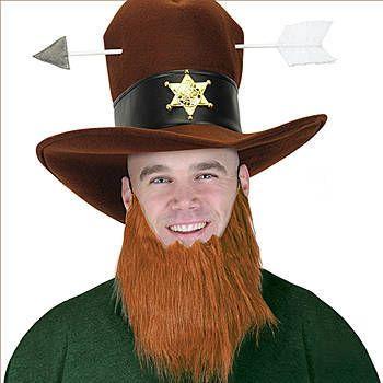 fake beard irish leprechaun