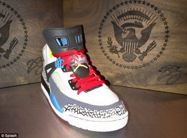 The Air Jordan Spizike. Cute :) (Courtesy of Daily Mail)