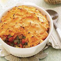 Curried Sweet Potato Shepherd's Pie