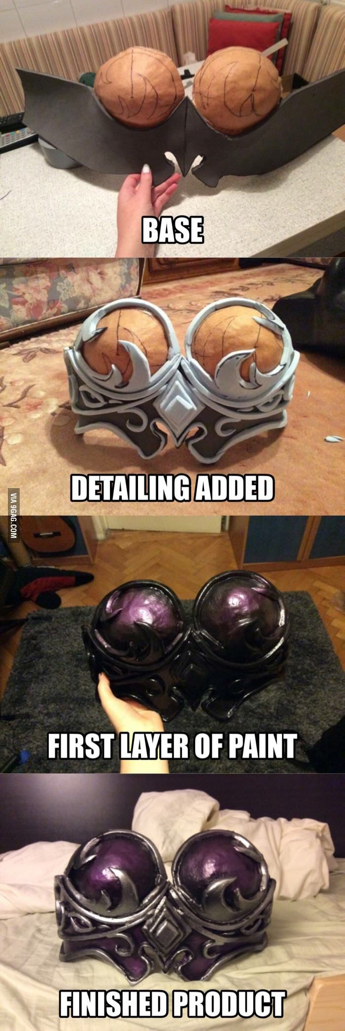 My first cosplay armor *Sylvanas FTW* - 9GAG