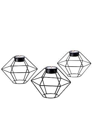 Ellos Home Ljuslyktor i 3-pack