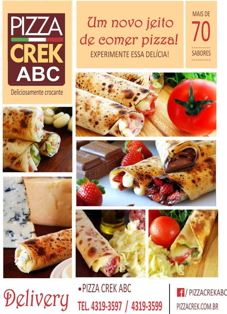 Pizza Creck - Panfletos                                                                                                                                                      Mais