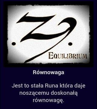 Equilibrium runes