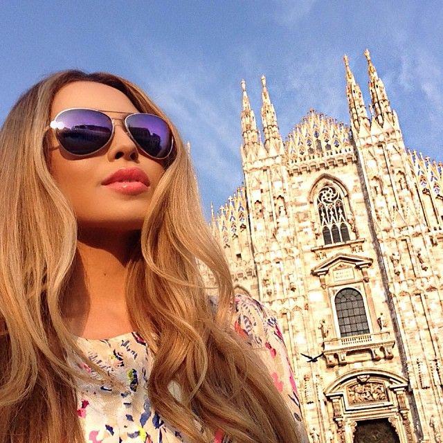 "#ShareIG Milano    lipstick: #MAC ""Coral Bliss""   #DuomoDiMilano #Eurolove"