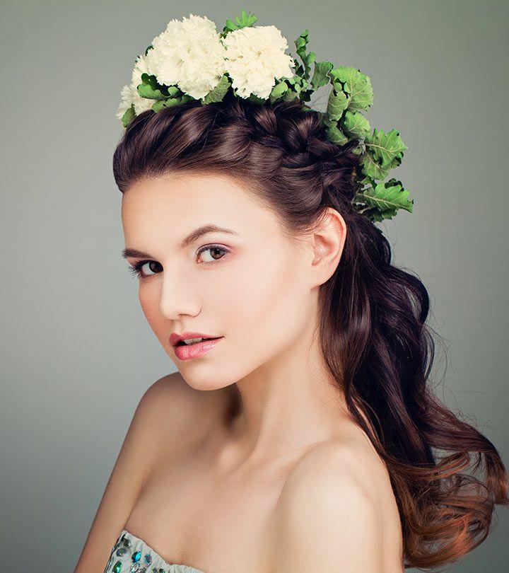 31 Incredible Half Up-Half Down Prom Hairstyles   Half up ...