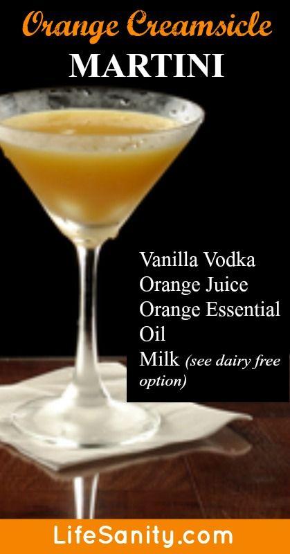 Orange Creamsicle Martini | Recipe | Cocktails, Orange ...