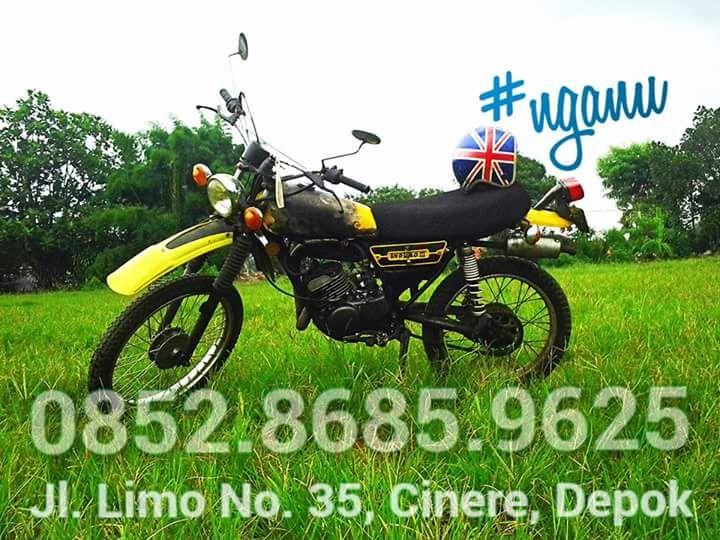 Lapak Trail Klasik Yamahmud DT100 - DEPOK - LAPAK MOTOR BEKAS   MOTKAS