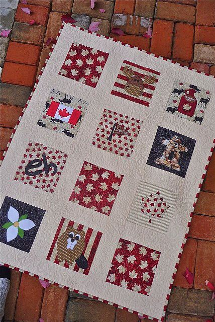 Canada Quilt for the Great Canadian Baby   donmark26   Flickr
