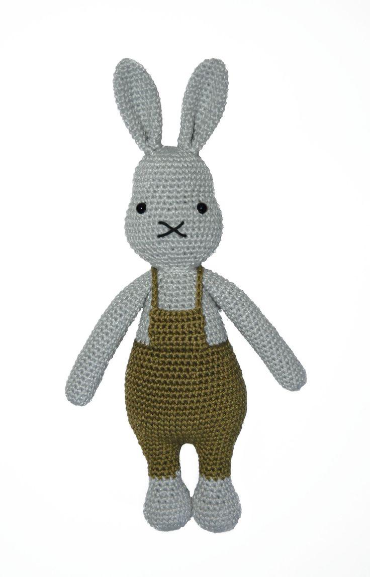 Rik Rabbit white background