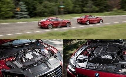 2012 Audi A7 3.0T Quattro vs. 2013 BMW 640i Gran Coupe - Comparison Test - Car and Driver