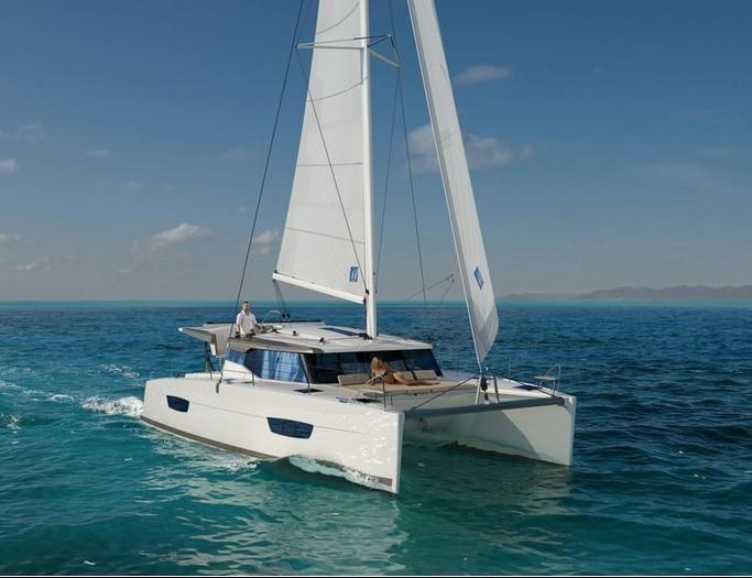 Catamaran yacht charter Croatia on board Fountaine Pajot Lucia 40 and visit Croatia islands with Catamaran Charter Croatia, Cabins 4, Berths 8