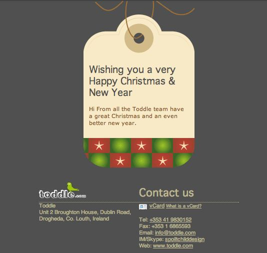 Best Christmas Email Inspiration Images On