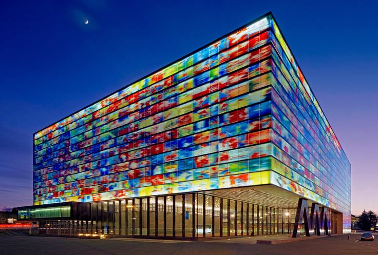 Institute for Sound and Vision, Hilversum, #hollanda  #mngturizmle #ülkeler