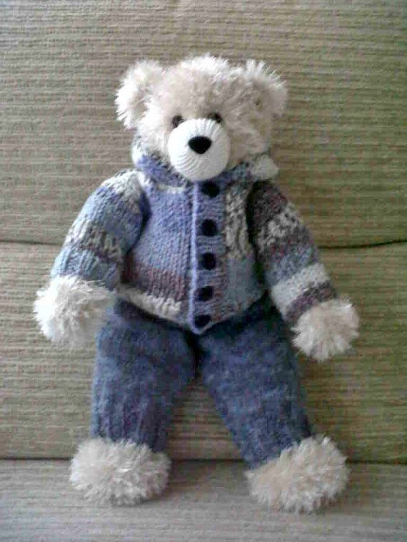 Knitting Clothes For Teddy Bears : Best teddy bears clothes knitting and crochet