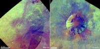 PIA16184: Pitted Terrain in Color