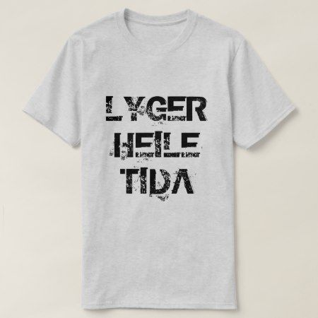 Norwegian text lyger heile tida lying all the time T-Shirt - click to get yours right now!