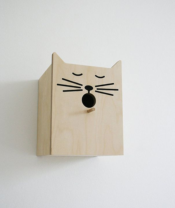 Best Lustiger Hingucker f r den Garten Katzen Vogelh uschen von Suck UK Ltd Preis