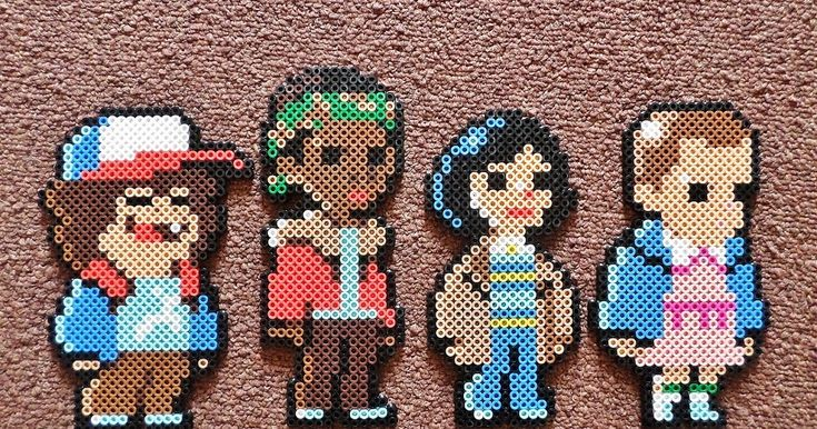 I did these Stranger Things in Perler form based off of pixels for a non-existent video game created by Johan Vinet. By http://longblackfingers.blogspot.co.uk/