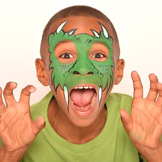 Cave Monster - Horror and HalloweenFace Paint Ideas - How to Face Paint | Snazaroo