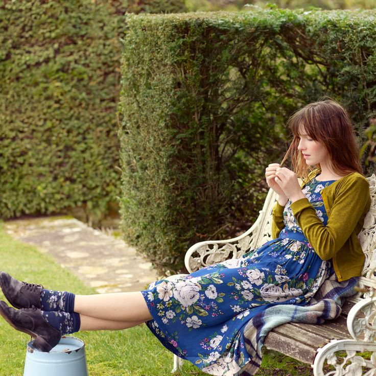 Hampstead Rose Dress with Dart Front Detail | View All | CathKidston