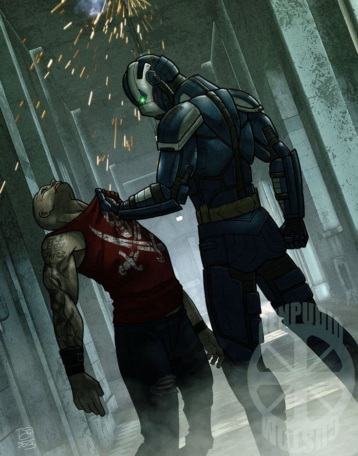 Ballistic, a Mutants & Masterminds character commission ...