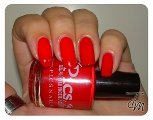 #Swatches & #Review – #PicsNails #Smalto Rosso Arancio Chiaro Laccato n° 22 #nailpolish #nails - http://www.letentazionidilaura.it/pics-nails-rosso-arancio-chiaro-laccato-n-22-preview-photo-swatch/