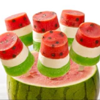 Perfect for Strawberry Festival! (Even though it's watermelon, lol!)