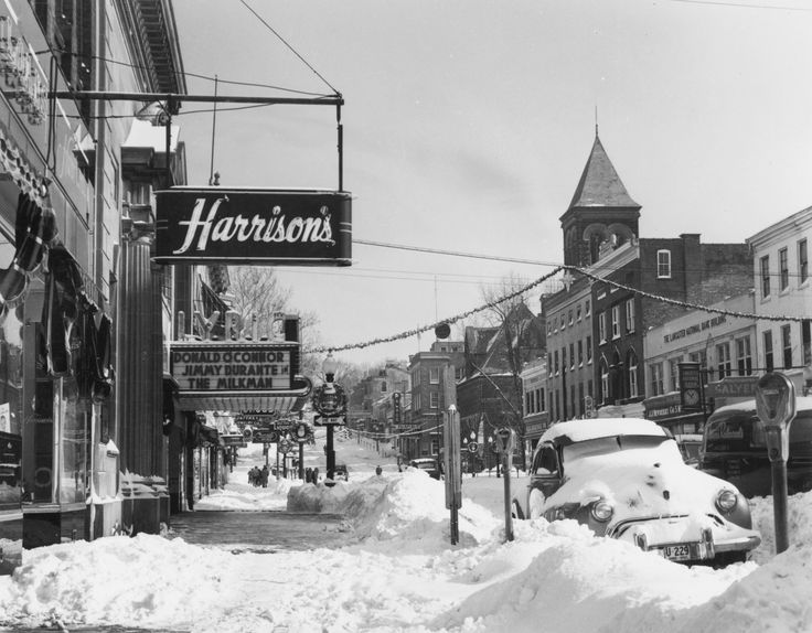 Harrison's women's clothing store (Lyric in background