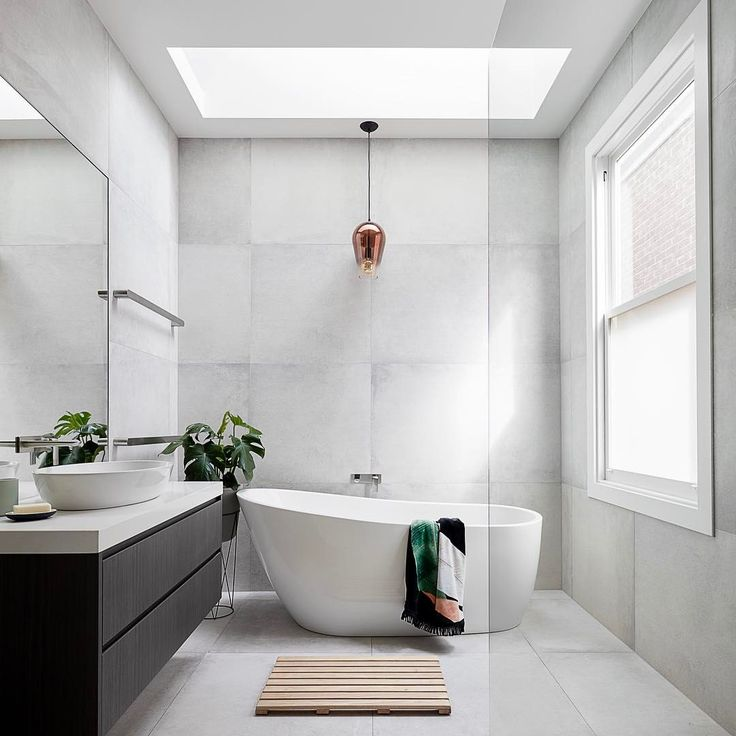 """151 Likes, 13 Comments - GLOWBuildingDesign (@glowbuildingdesign) on Instagram: """"Bathroom at the 'powerhouse' Knew this bathroom in renovated and extended Victorian in Williamstown…"""""""
