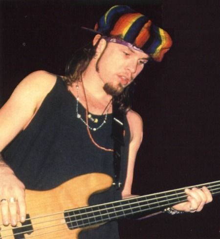 Jeff Ament and one of his wicked hats... Again