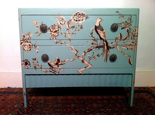 Decoupage Furniture