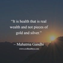 Famous Wealth And Health Quotes