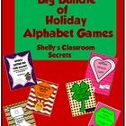 These holiday alphabet games will be favorites of your students. Included are a dozen different ways to differentiate play of this game from your l...