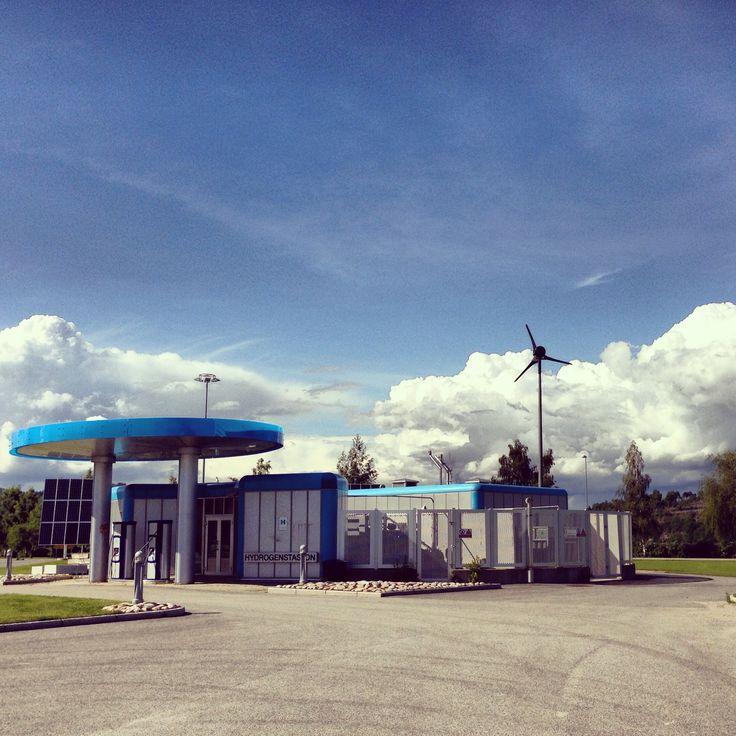 Hydrogen station, Herøya Porsgrunn