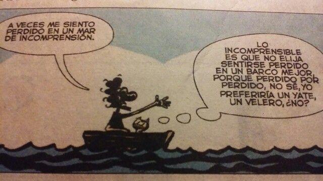 De la tira Genio y figura de Max Aguirre, en el diario La Nación