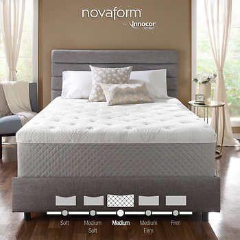 Novaform 14 Quot Serafina Pearl Gel King Memory Foam Mattress