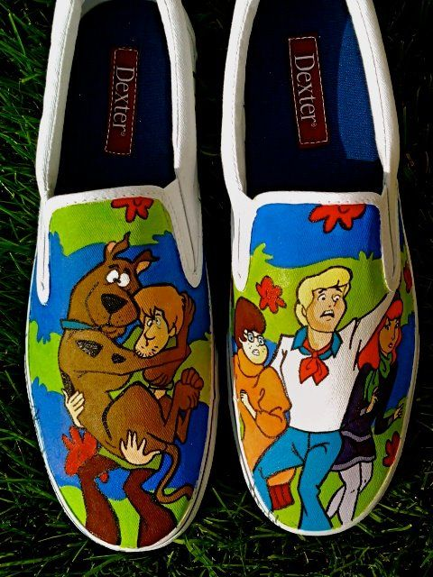 canvas painted shoes - Google Search
