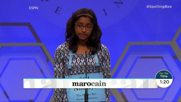 Transcript for  Nearly 300 young people compete in 2017 Scripps National Spelling Bee  Finally tonight here, how do you spell person of the week? Far too easy for the children we're about to meet. The spellers who made it all the way to the finals on the national stage, and the champ. Our... - #Compete, #Nationa, #People, #Scripps, #TopStories, #Young