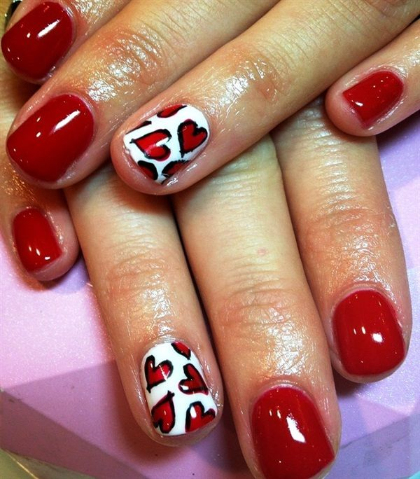 Valentine S Day Nails Art: 1000+ Images About Valentines Day Nail Art On Pinterest