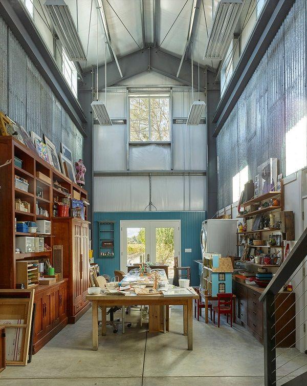 100 Charming Farmhouse Office Decor Ideas for Your Home office - Home Office Decor Ideas