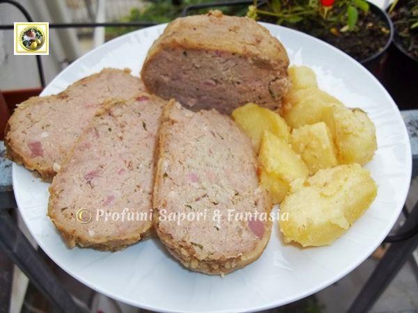 Polpettone di carne e ricotta al forno  Profumi Sapori & Fantasia