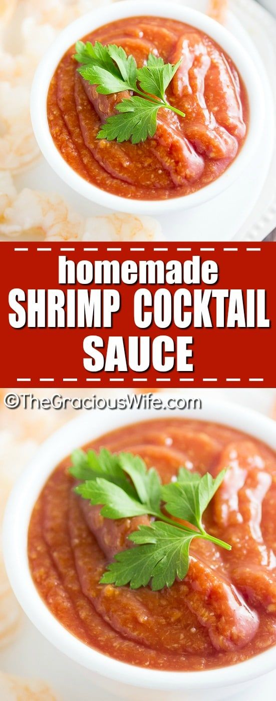 Homemade Shrimp Cocktail Sauce