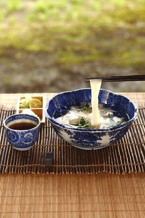 Japanese noodle, Somen そうめん