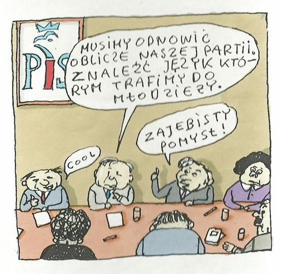 Kaczyński iPad Gliński (by Marek Raczkowski)
